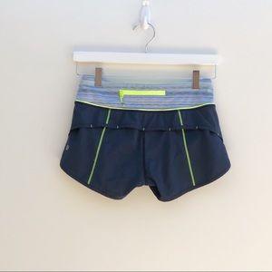 Lululemon Blue Running Shorts Size 2